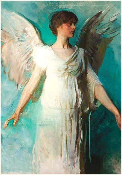 Abbot Handerson Thayer Was Known For His Portraiture Of