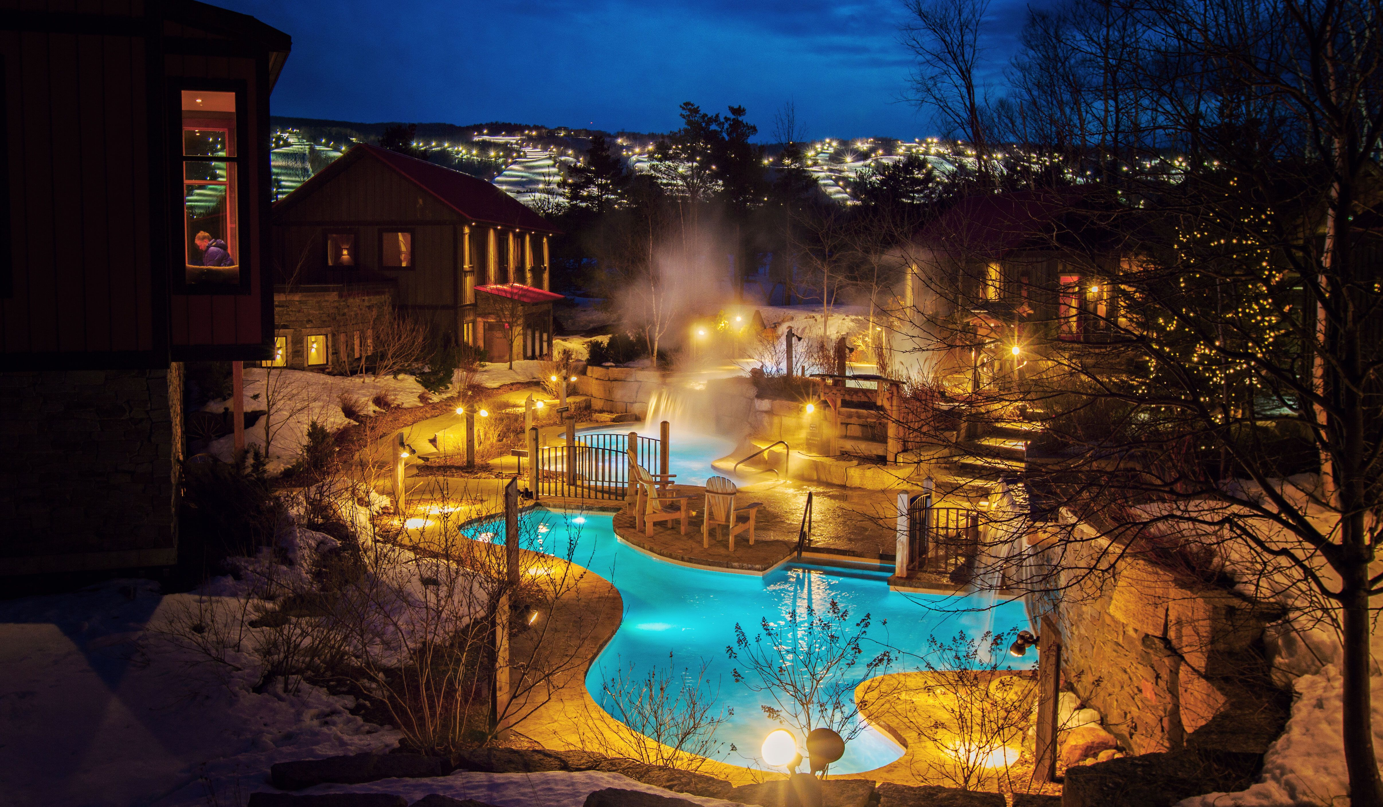 Blue Mountains Scandinave Spa Collingwood On Blue Mountain Hiking Trails Outdoor