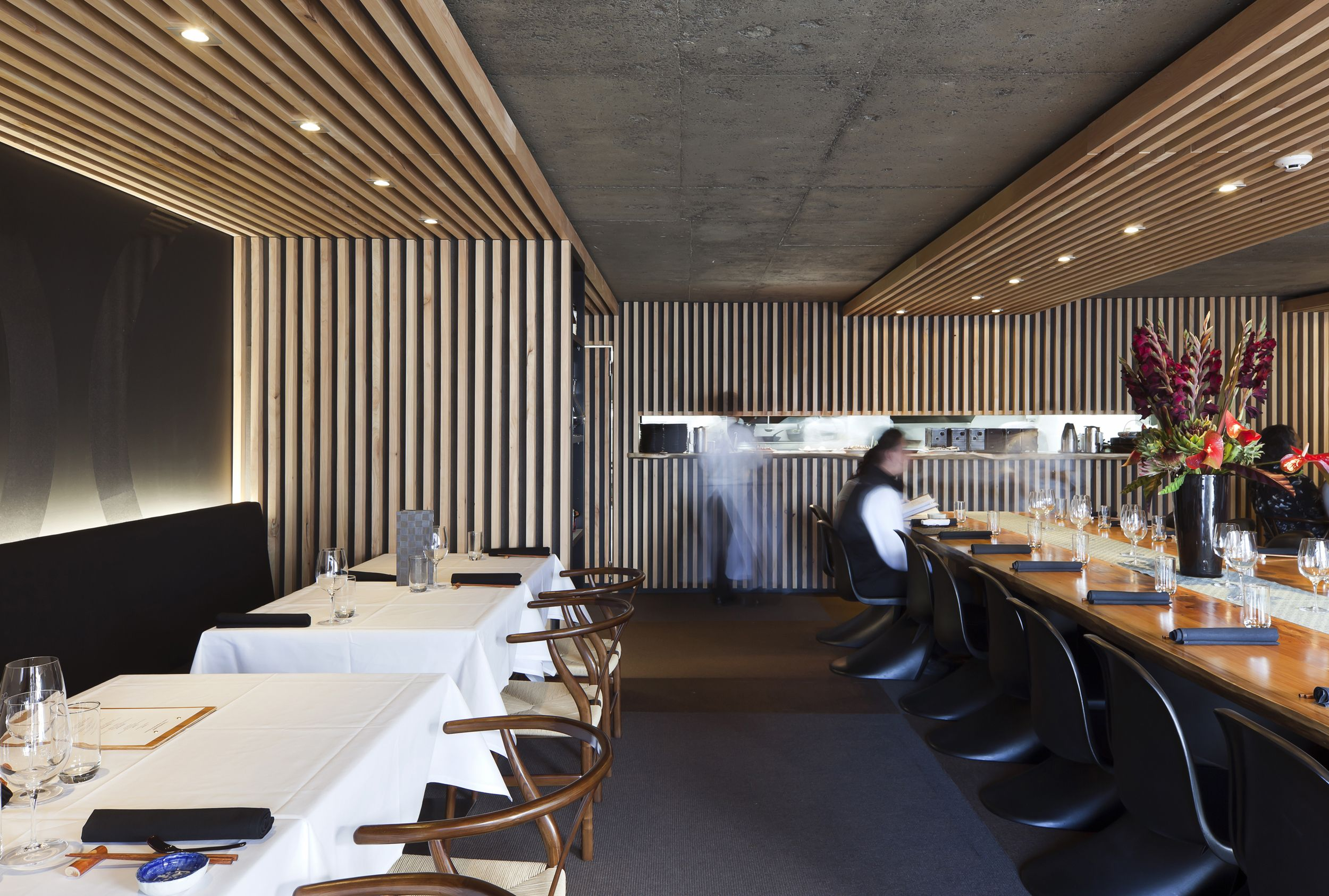 The Use Of Slatted Timber Structures Within This