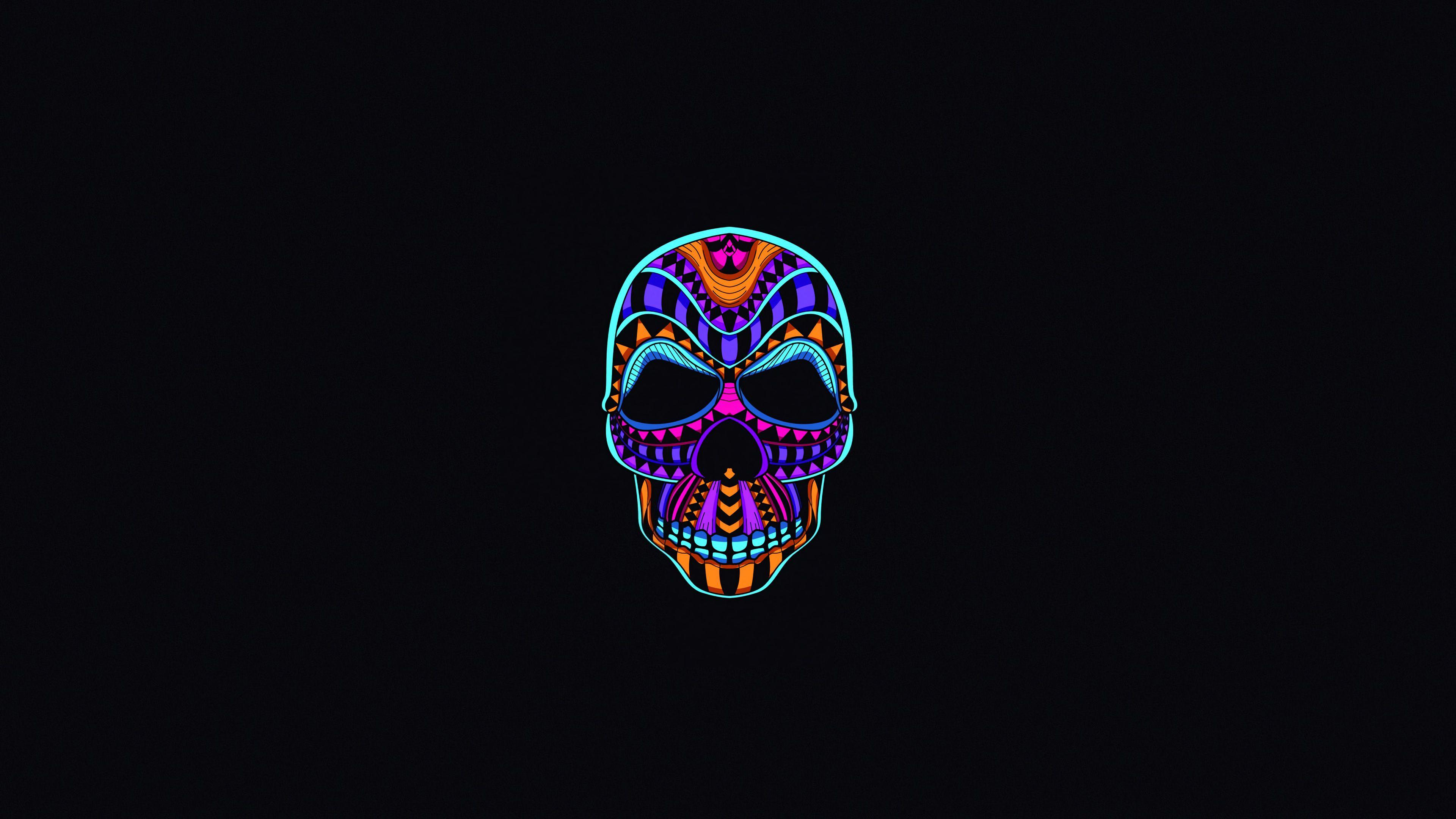 Skull Dark Minimal Skull Wallpapers Oled Wallpapers Minimalist Wallpapers Minimalism Wallpapers Hd Wallpap Minimal Wallpaper Neon Wallpaper Skull Wallpaper