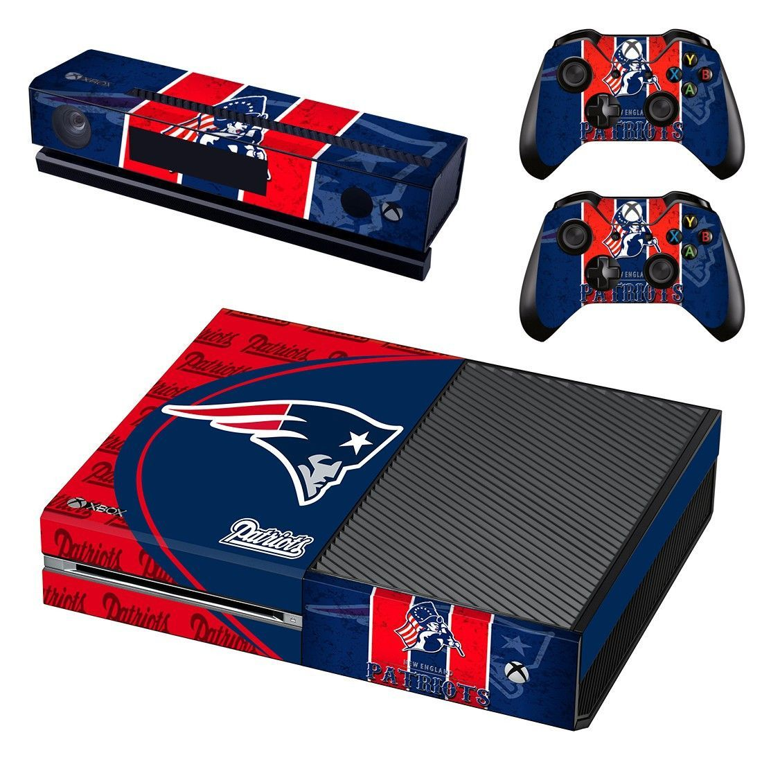 New England Patriots Xbox One Skin Decal For Console And 2 Controllers Https Www Fanprint Com Licenses New England Pa Xbox One Skin Xbox One Xbox One Console