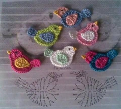 Todo para Crear ... : palomas | ถักใบ | Pinterest | Crear, Tejido y ...