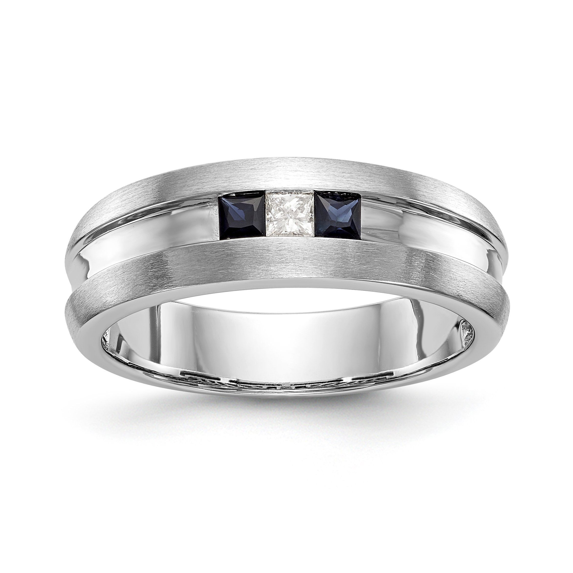 G-H,I2-I3 Size-4 Diamond Wedding Band in 10K Yellow Gold 1//20 cttw,