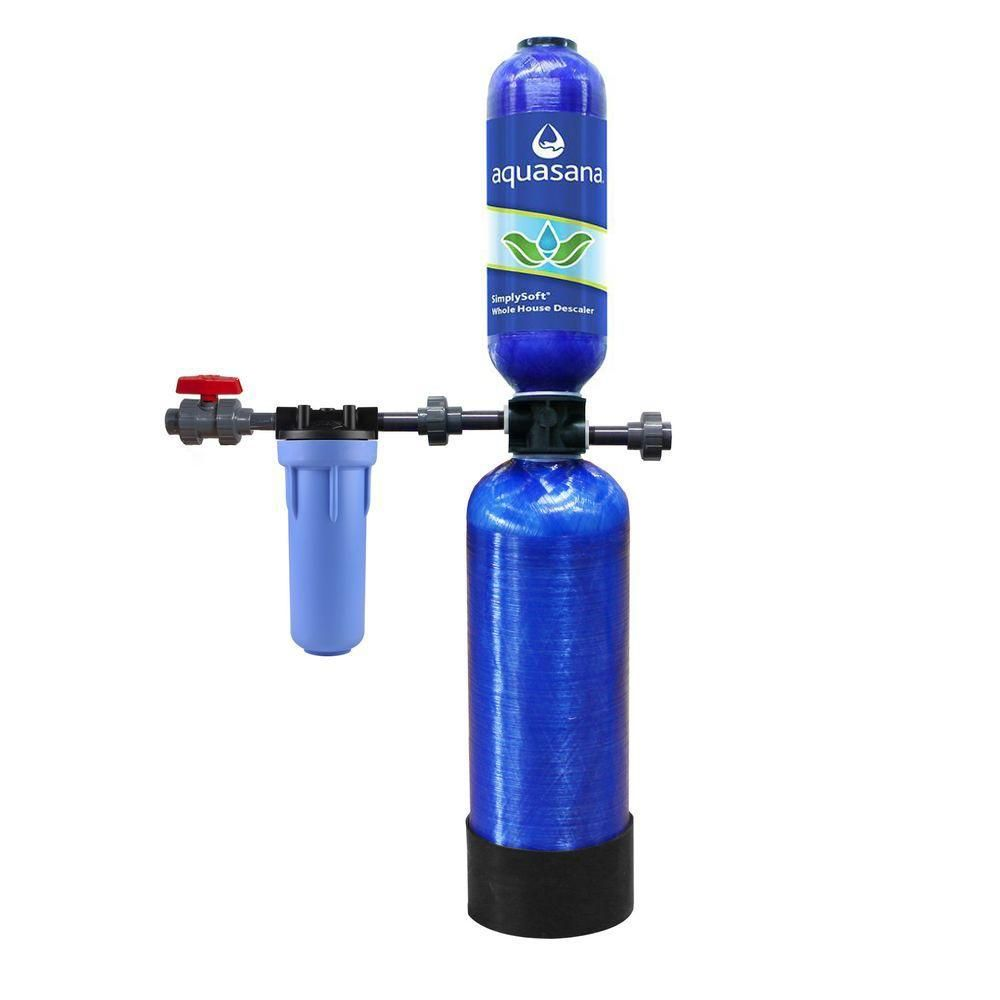 Aquasana 600 000 Gal Whole House Salt Free Water Conditioner With Pre Filter And Install Kit Thd Ast Wh Whole House Water Filter House Water Filter Water Filtration System