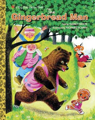 Richard Scarry S The Gingerbread Man By Nancy Nolte Richard Scarry