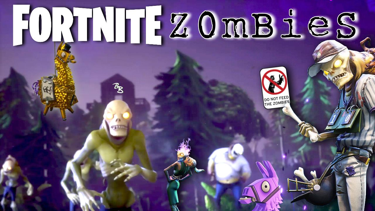 Don T Feed The Zombies Fortnite Multiplayer Gameplay