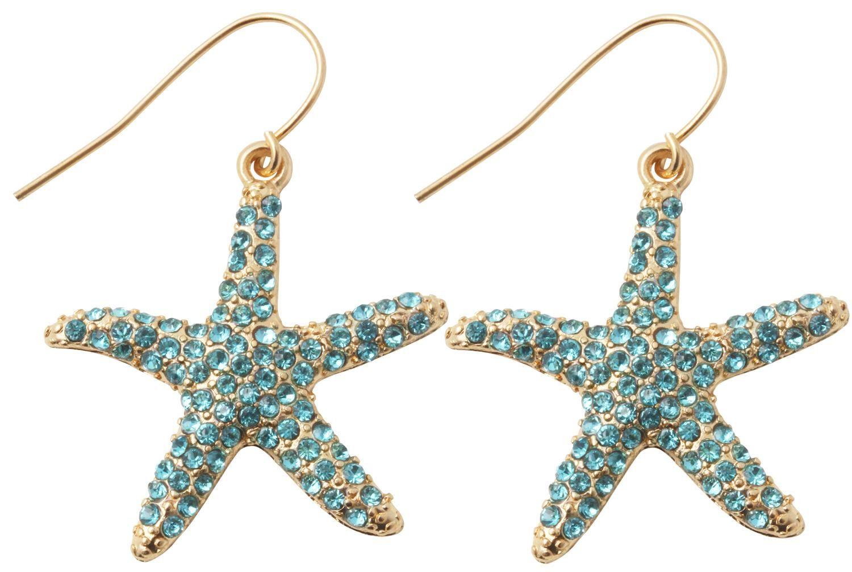 Bijou Brigitte Ohrhanger Blue Starfish