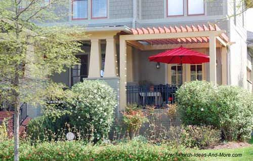 patio ideas to expand your front porch | gazebo roof, patios and porch - Front Patio Ideas