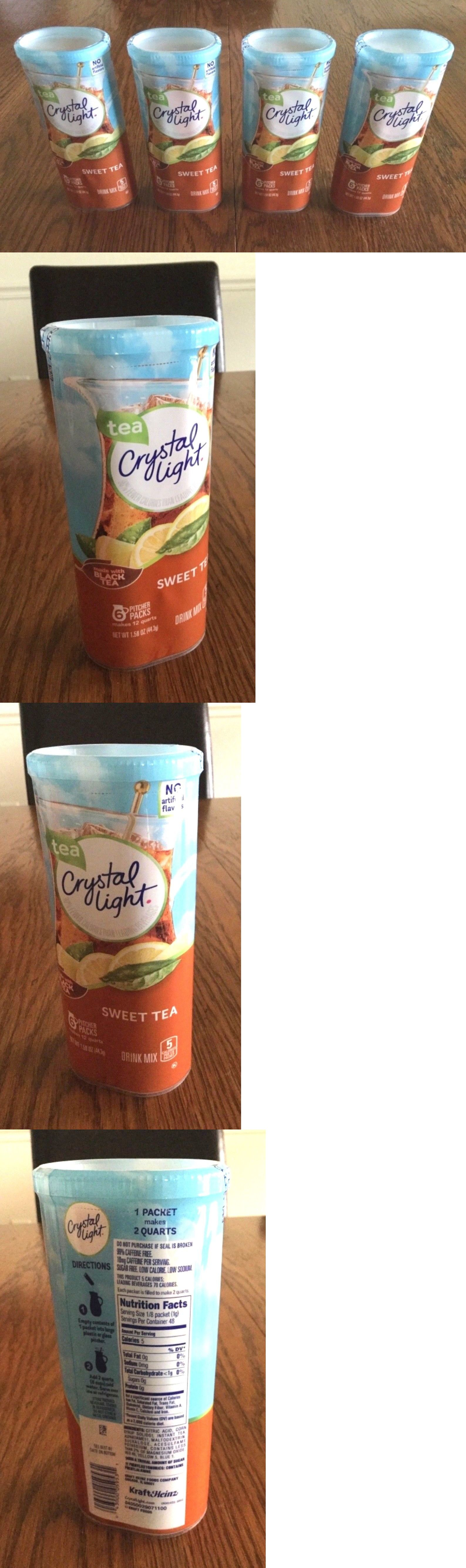 Drink Mixes 179192 Crystal Light Sweet Tea Drink Mix 24 Pitcher Packets Makes 48 Qts Buy It Now Only 14 99 On Ebay Sweet Tea Drinking Tea Mixed Drinks