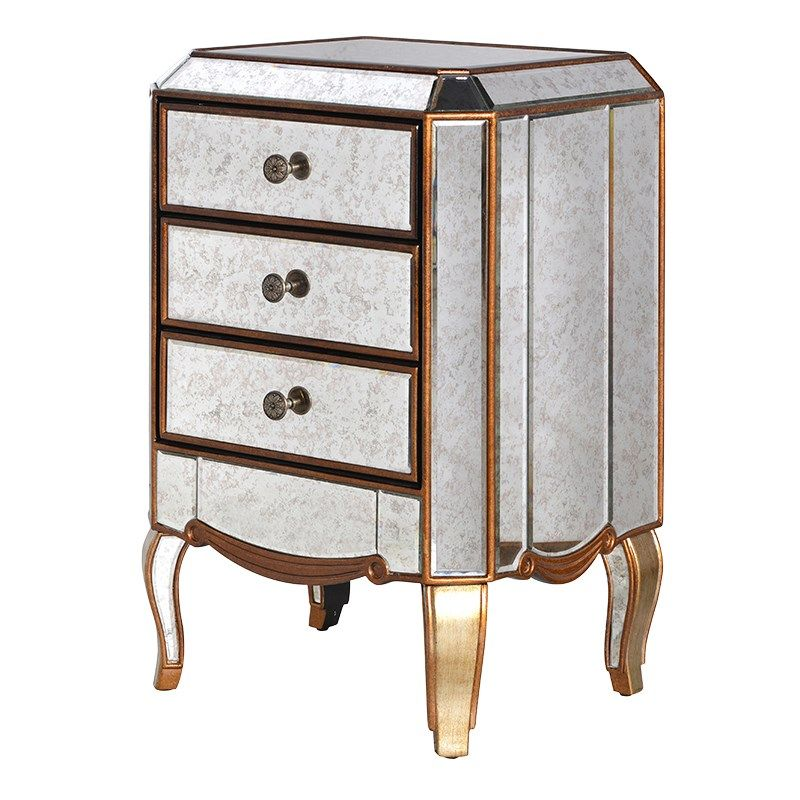 Coach House Gua082 Furniture 3 Drawer Chest British Interior