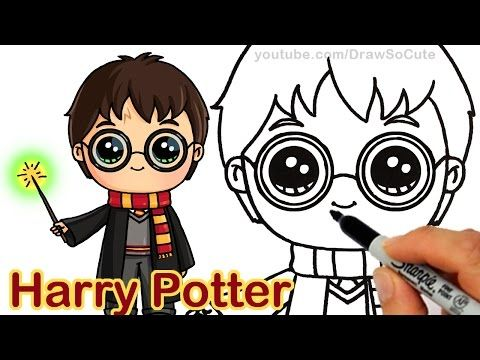 How To Draw Chibi Harry Potter Step By Step Cute Youtube Chibi