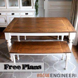 Diy Solid Oak Farmhouse Table Danielle Corey S House Pinterest