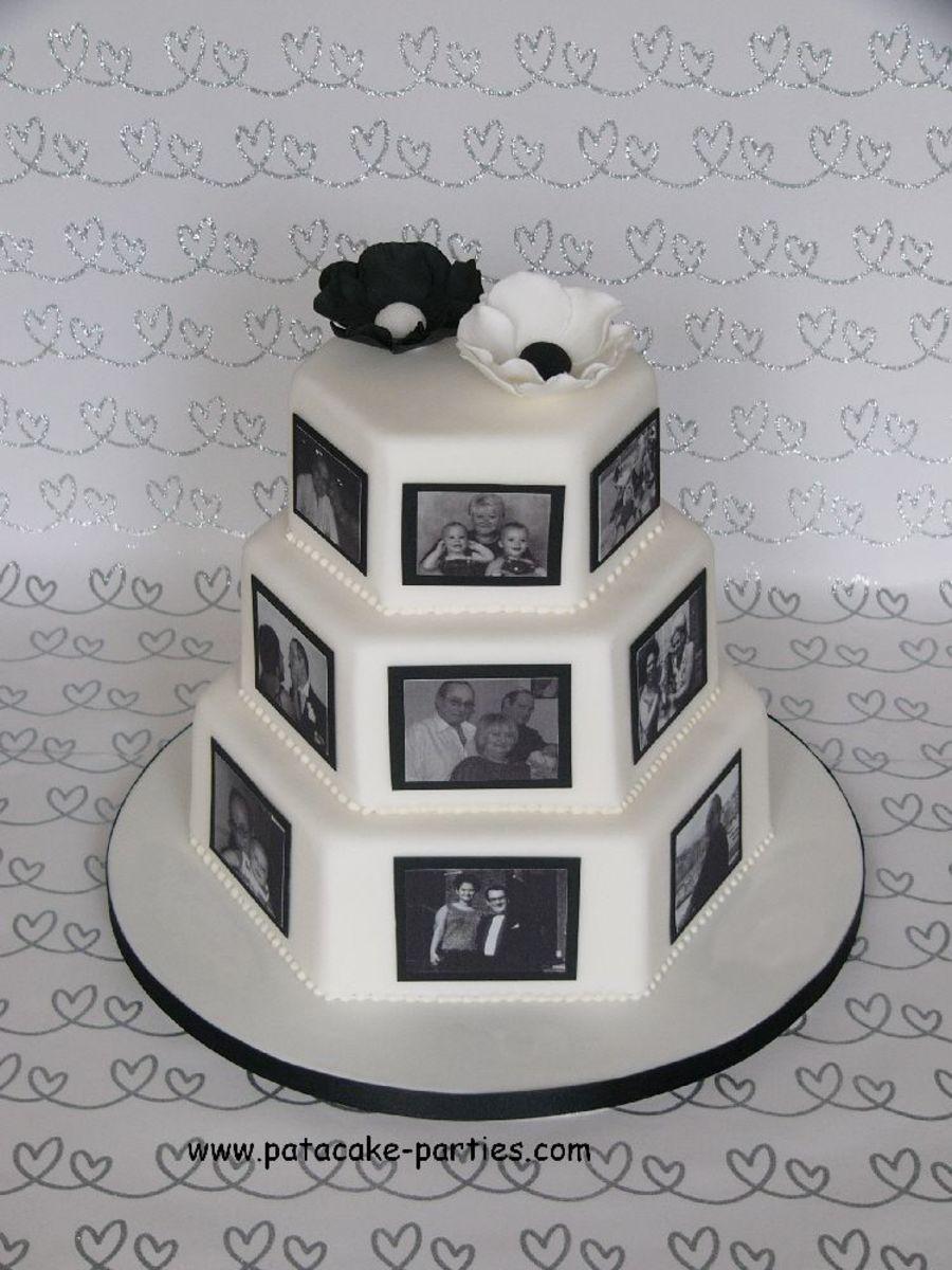 Decoration ideas for 40th wedding anniversary  OK So it isnut technically a wedding cake But it   de