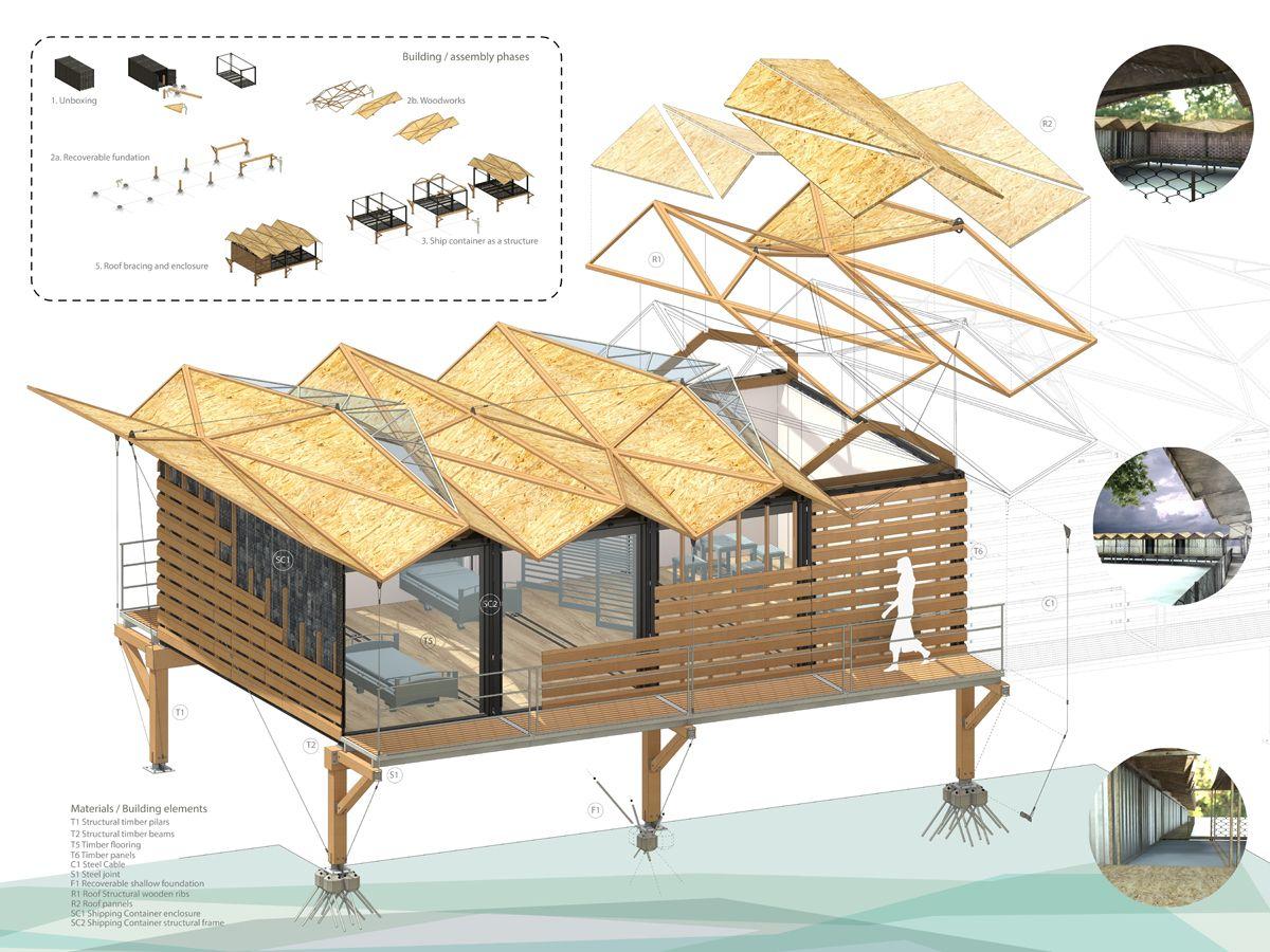 Arquitectos de la ETSAM en cinco equipos premiados con los