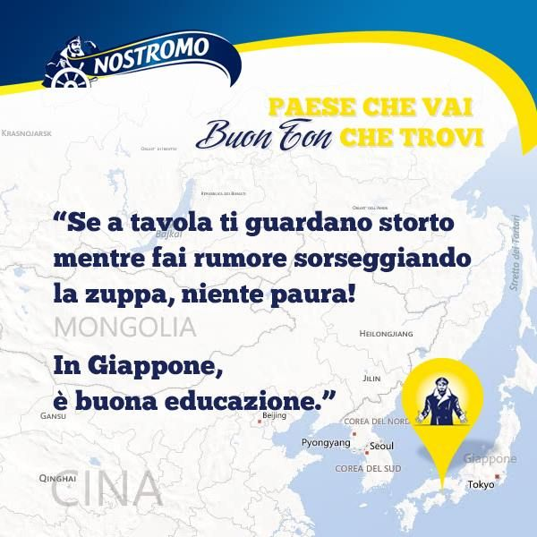 #giappone #galateo #bonton #zuppa #educazione