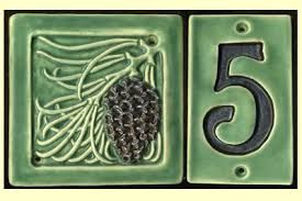 Image result for ceramic house numbers