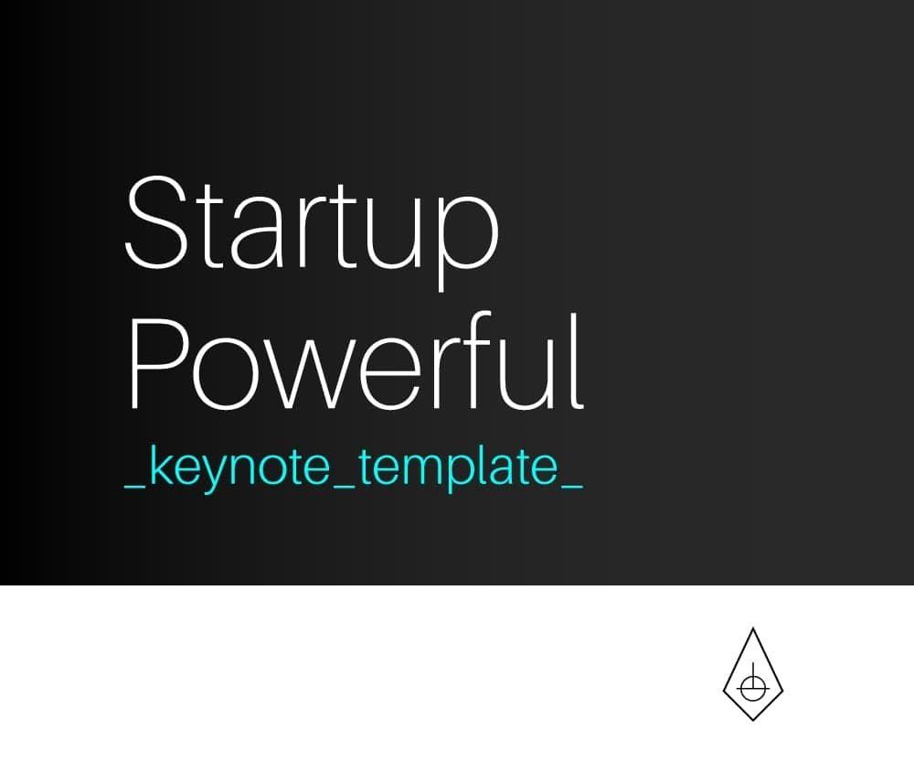 Startup Powerful, Plantilla de Negocios para Keynote By Clabii on ...