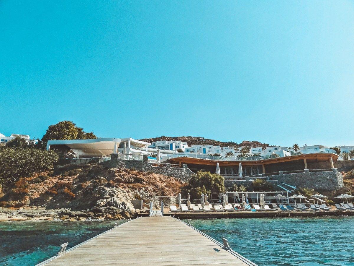 Stay In Beautiful 5 Star Saint John Hotel Mykonos St John Hotel