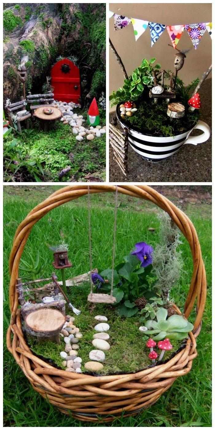 Easy Fairy and Miniature Gardens - 60 Best DIY Fairy Garden Ideas ...