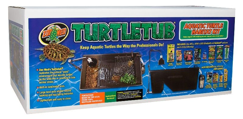 TurtleTub® Starter Kit from Zoo Med Labs.