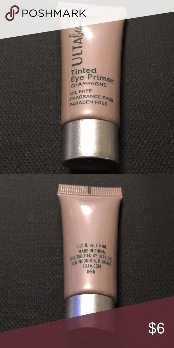 "Ulta tinted eye primer ""Champagne"" purse size Ulta tinted"