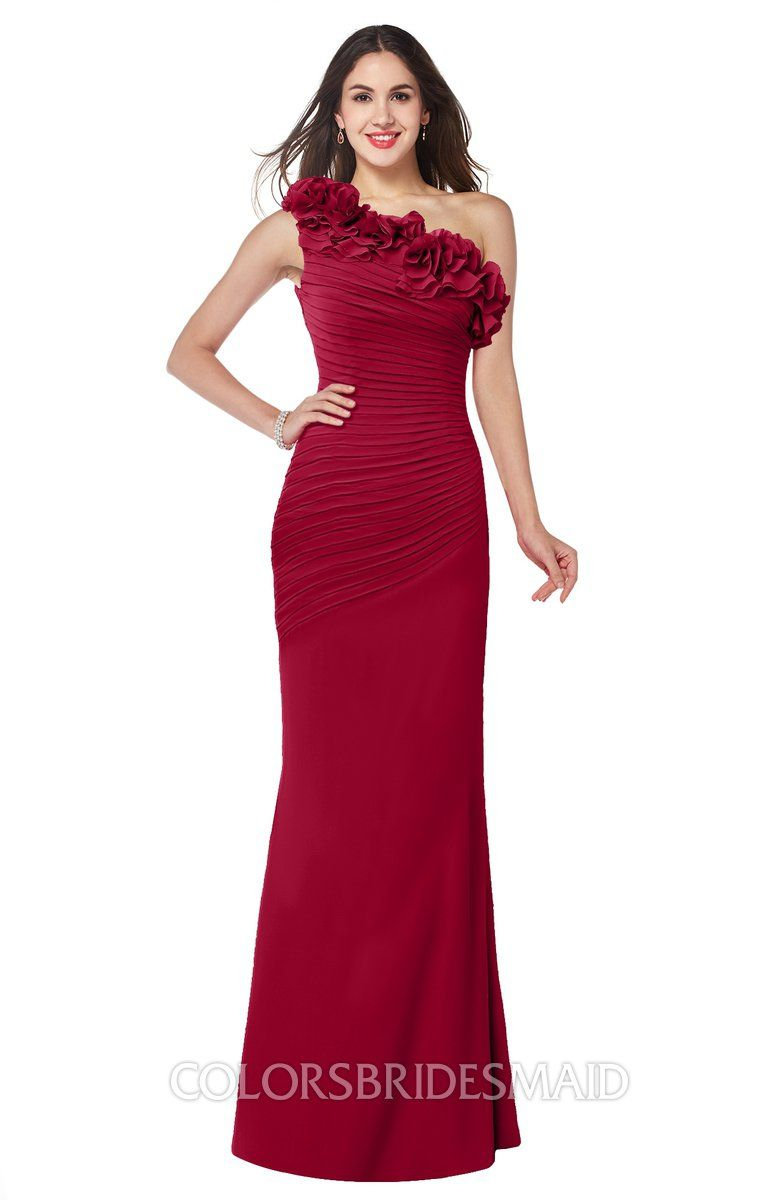 5a3e67c9a421 The Chiffon, Fit-n-Flare Bridesmaid Dresses ends with Floor Length hemline  that embellished with Ruching.