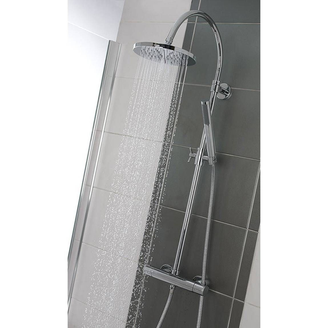 Bathroom Accessories Victoria Plumb iaria round head shower riser system half price in victoria plumb