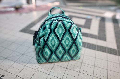 b8d6f144f32e Mini Backpack Coin Purse Pattern - FREE and Easy! - So Sew Easy