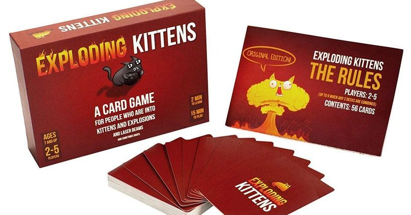 The Most Popular 2 Player Board Games Exploding kittens