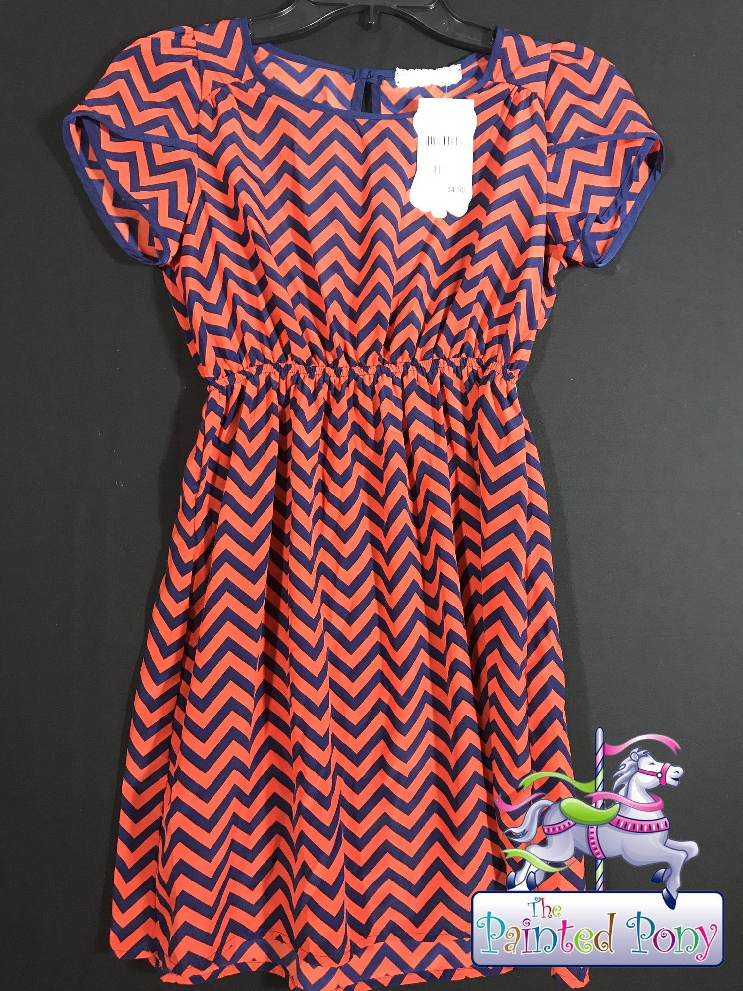 Girls size 10-12 colorful dress by Soprano, N W T, $16.99