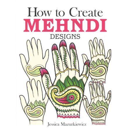 549eae2fc How to Create Mehndi Designs - Walmart.com Henna Tattoo Stencils, Henna  Tattoo Kit