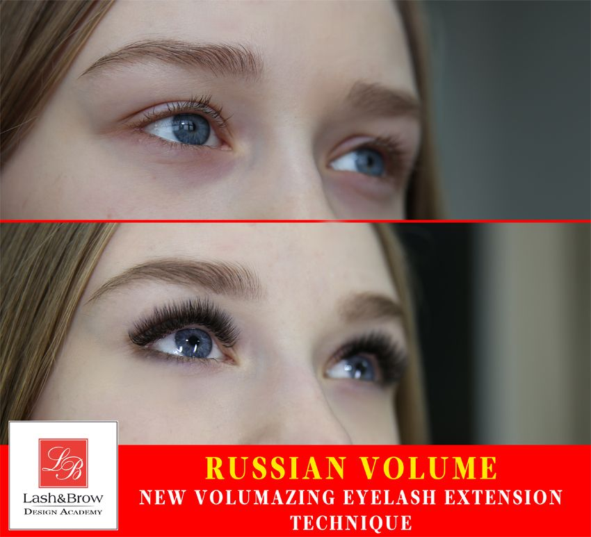 Russian Volume Eyelash Extension It Came To Another Countries
