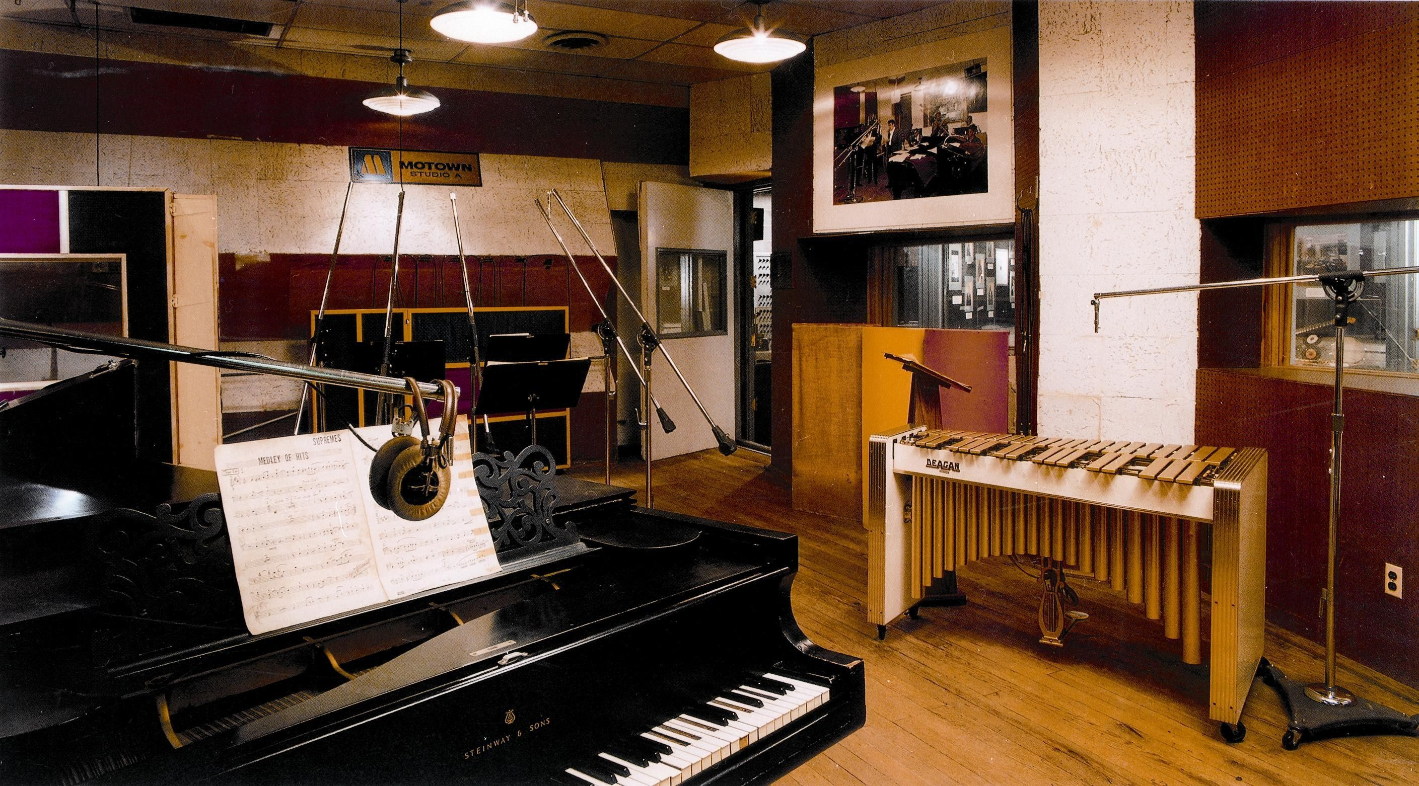 Motown Museum Studio Courtesy MuseumJPG  Pixels - Music museums in usa