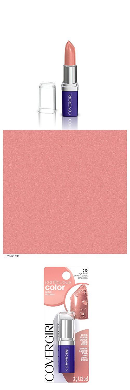 COVERGIRL Continuous Color Lipstick Sugar Almond 010, .13