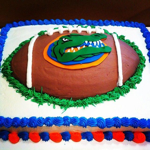 Florida Gators Birthday Cake Gina J Pinterest Birthday Cake