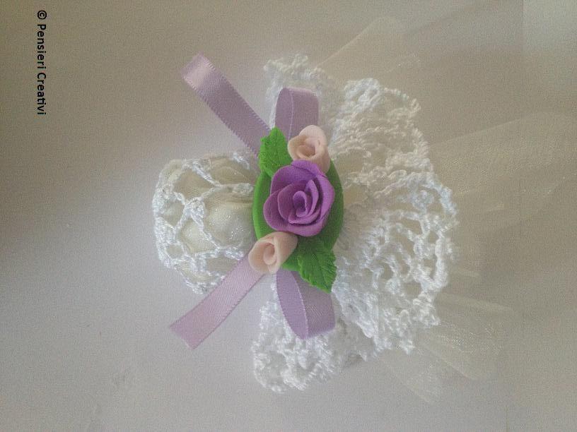 Tutorial Bomboniera Uncinetto Crochet Wedding Favor Tutorial