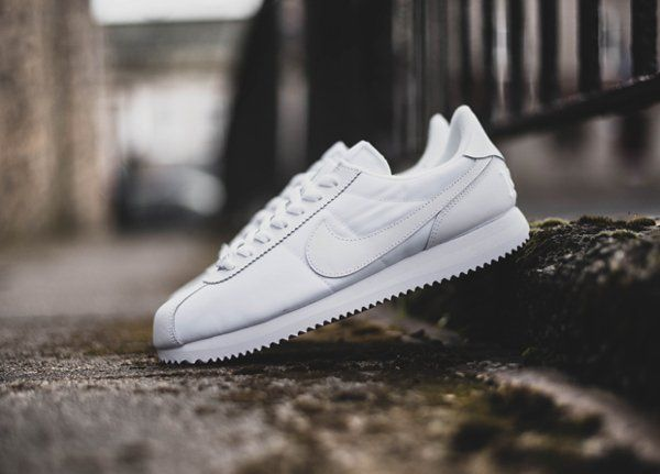 Trendy Sneakers 2017/ 2018 : Sneakers women - Nike Cortez white  (©runwithkrys | Nike cortez white, Nike cortez and Women nike
