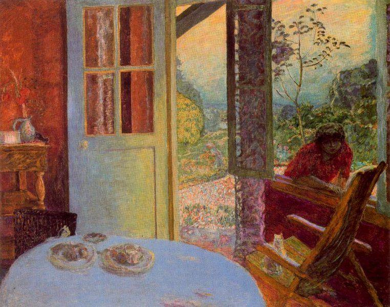 La sala da pranzo in campagna