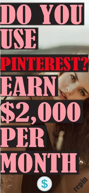 BENUTZEN SIE PINTEREST? Ich verdiene 5.000 Dollar pro Monat mit PINTEREST und das kannst du auch !!!   – HOW TO MAKE MONEY ON PINTEREST