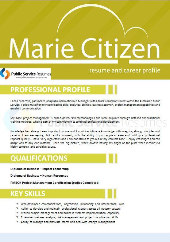 Government Selection Criteria Resume Writers Public Service Resumes Resume Writer Resume Resume Profile