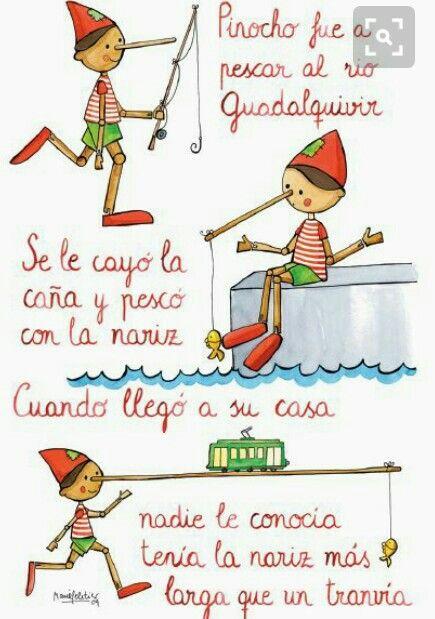 Canço Infantil Pinocho Va A Percar Letras De Canciones Infantiles Canciones Infantiles Poemas Infantiles