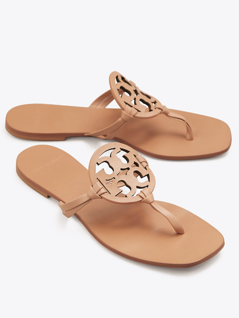 8feca6b69539 Tory Burch Miller Square-Toe Sandals