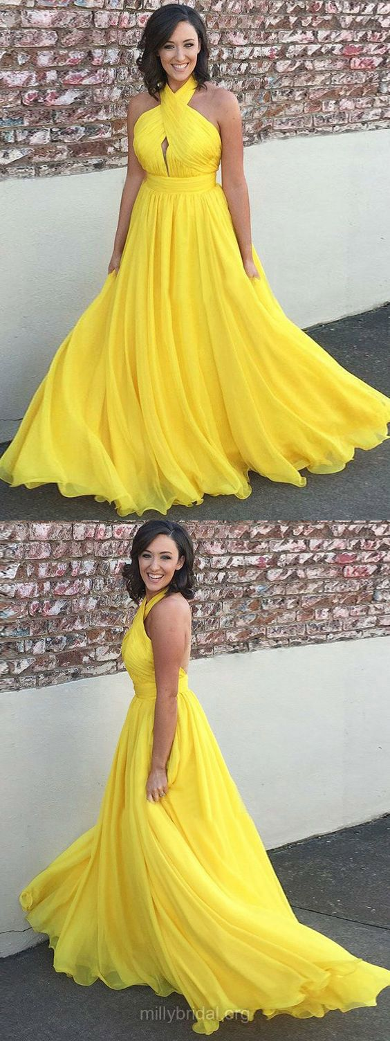 Yellow prom dresses long prom dresses prom dresses for teens