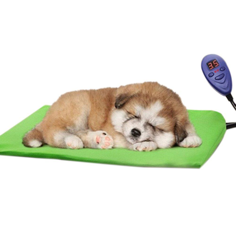 Uhomey Electric Heating Pads For Dogs Cats Pets Bed Review More Details Here This Is An Amazon Affiliate Link I May Earn Commiss Pet Dog Bedding Pet H