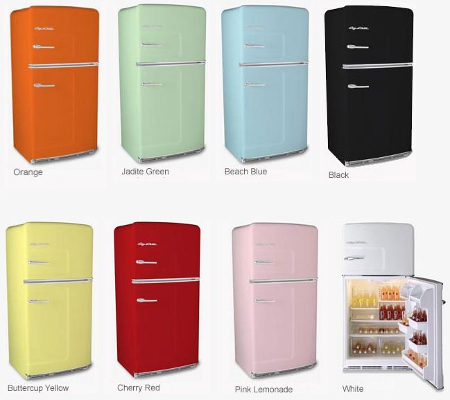 Merveilleux Colorful Retro Kitchen Appliances! Would Not Be Able To Decide Between The  Blue, Pink, Or Yellow.