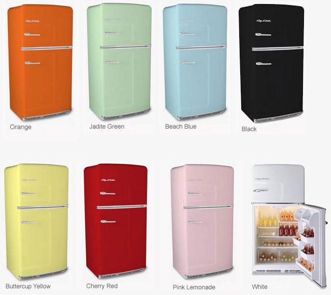 Colorful retro kitchen appliances!
