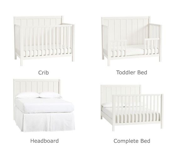 Camp 4 In 1 Full Bed Conversion Kit Cribs Convertible Crib Bed