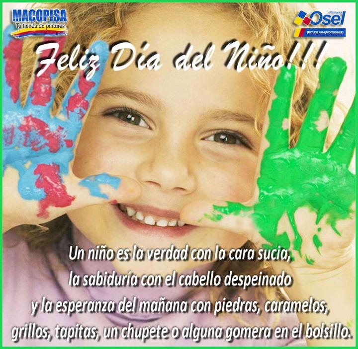 Feliz día del niño!! #Macopisa