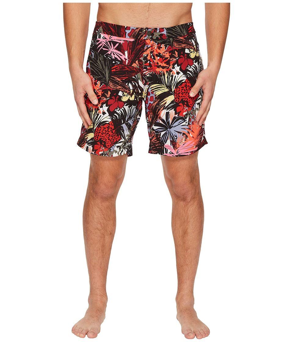 89dde043b6 onia Calder 7.5 Spanish Jungle Swim Shorts Men's Swimwear Cardinal Multi