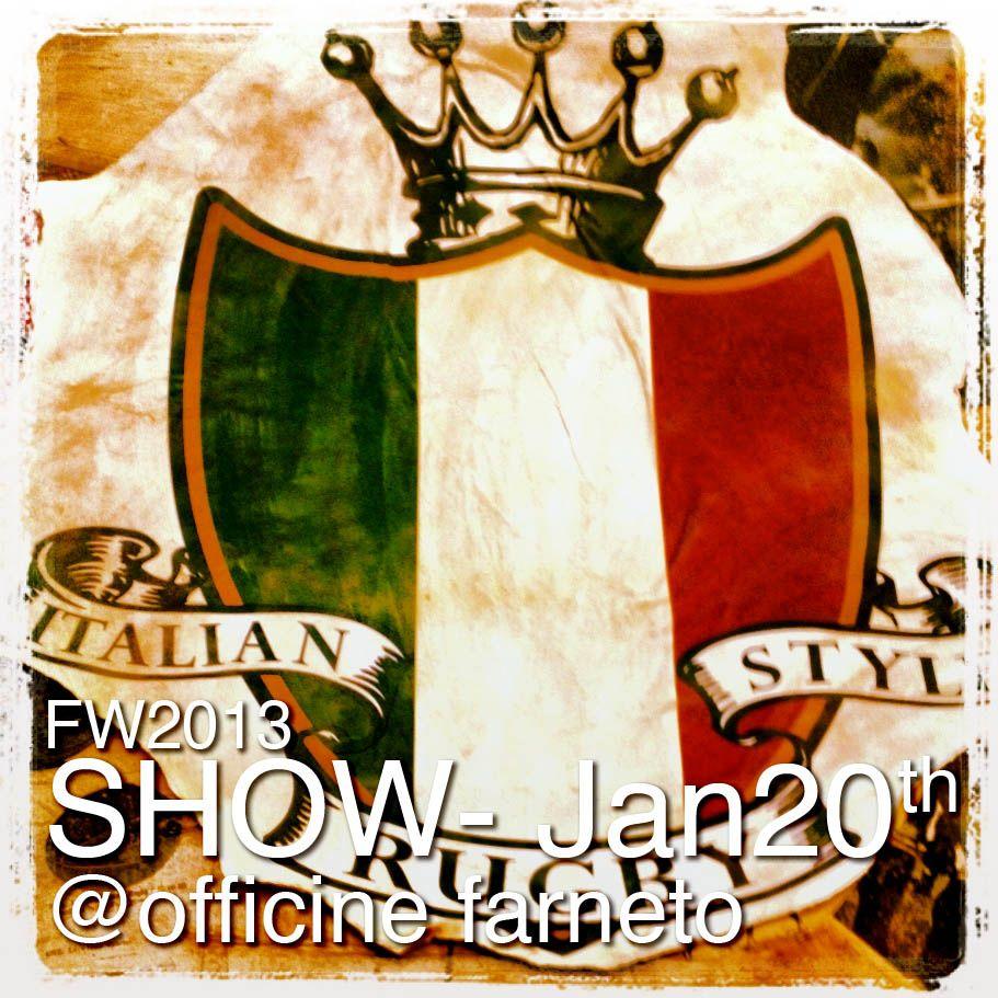 PRESENTAZIONE CAMPIONARI STAGIONE AUTUNNO INVERNO 2013(OFFICINE FARNETO ROMA)